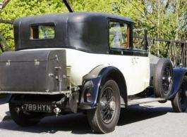 Vintage Rolls Royce Phantom for weddings in Brentford